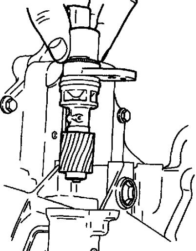 ford probe speed sensor location