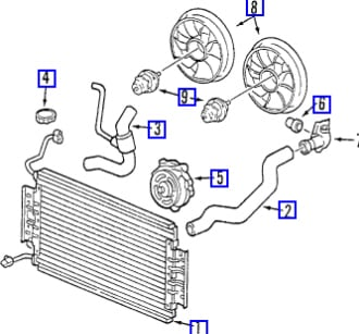 1997 Vw Heater Core Location