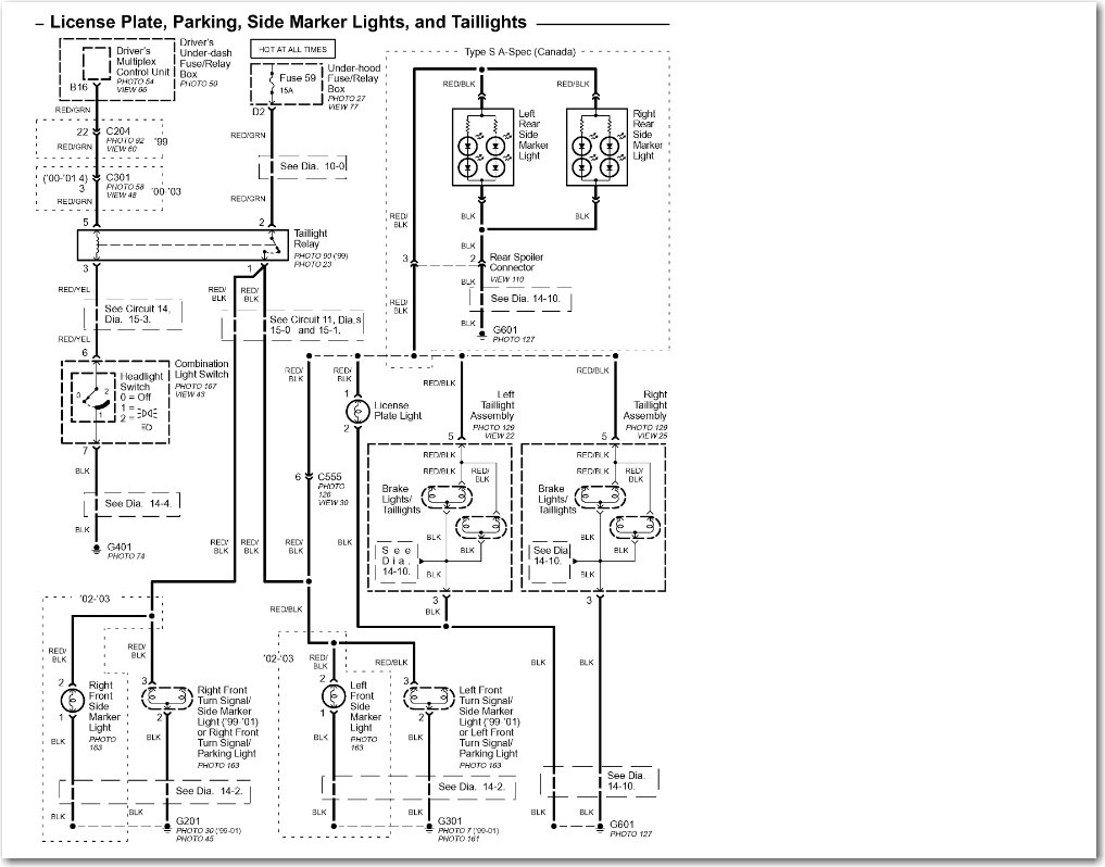 radio wiring diagram for 2000 acura tl hp photosmart printer Chevy  Silverado Tail Light Wiring Diagram