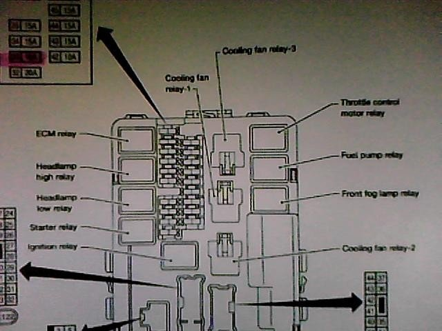Where Is The Ac Compressor Relay Switch Loacted In The 2005 Nissan Maxima