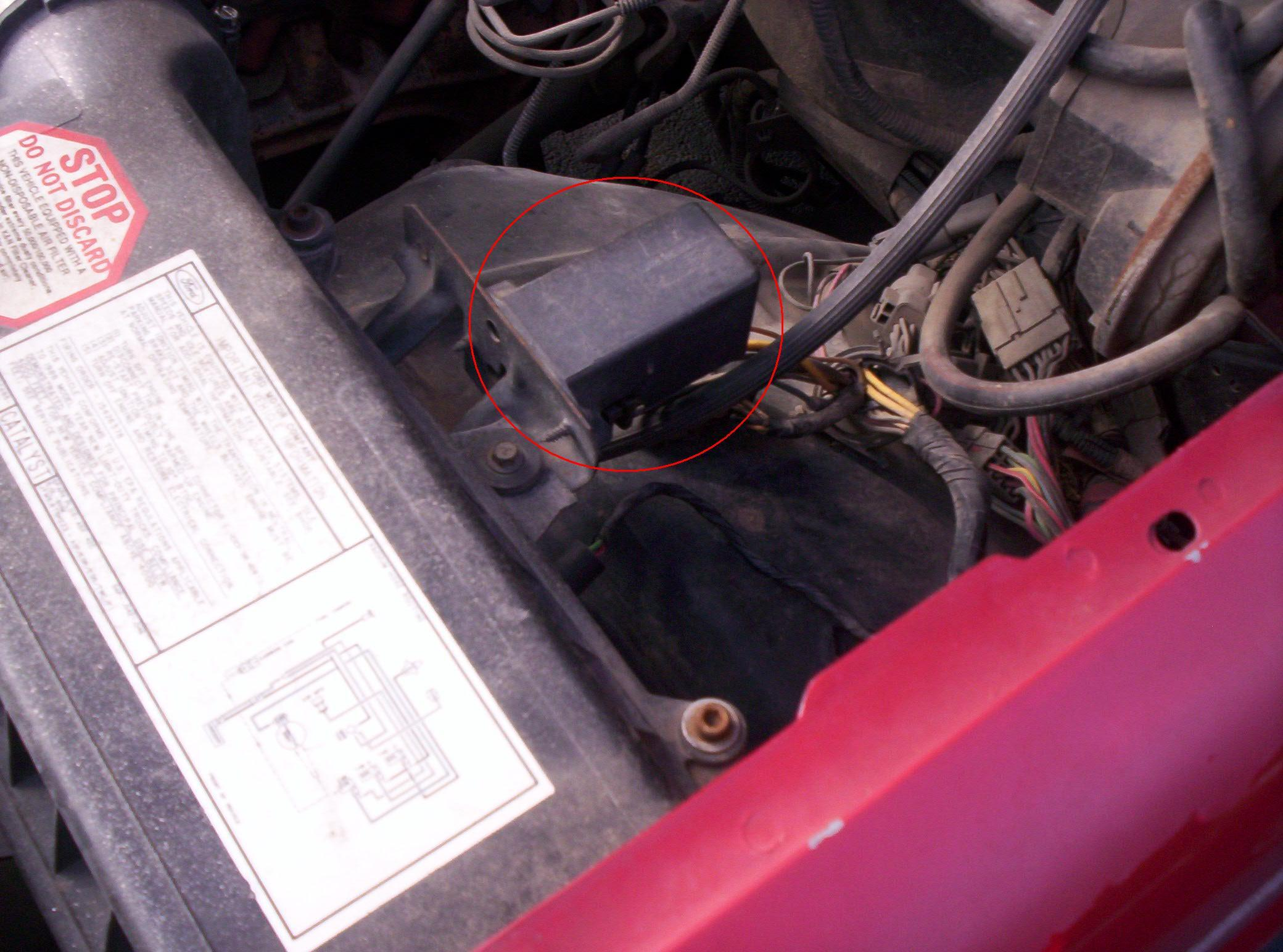 ford f cranks but will not start replaced the fuel also the fuel pump relay can be manually activated to test the relay and pump by grounding a wire at the eec test connector the test connector is located