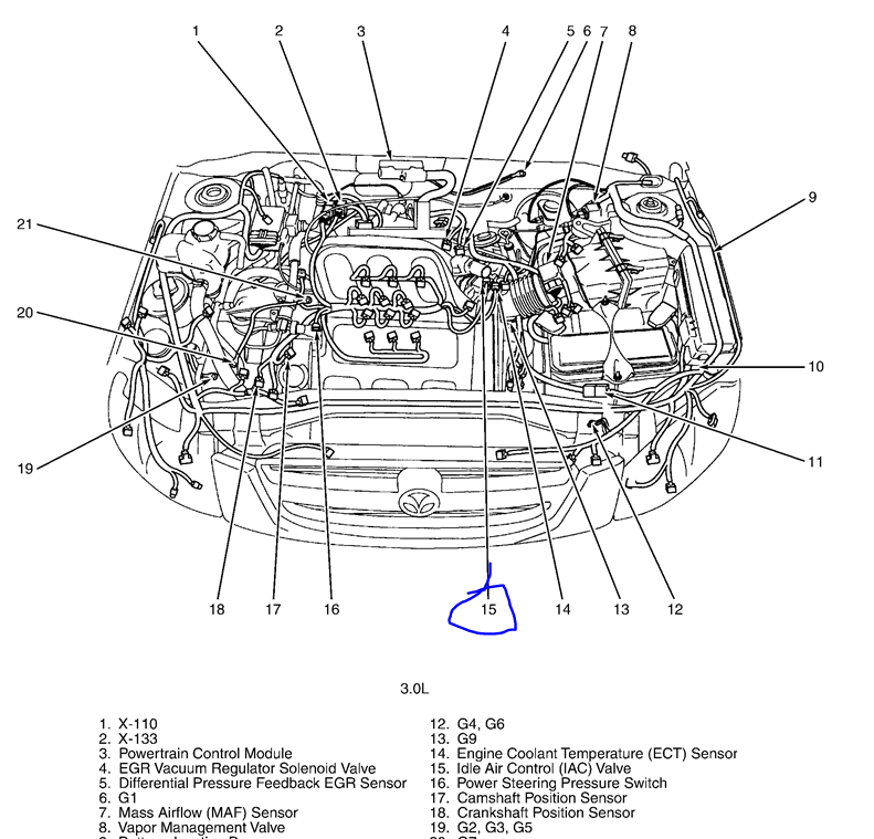 further 1996 98 Chevy Truck 4 3l 5 0l And 5 7l Serpentine Belt Diagram as well 2002 as well Dodge Caliber 2 0 Engine Diagram additionally T5622098 Serpentine belt diagram 2007. on 2006 mazda 6 3 0 l belt routing