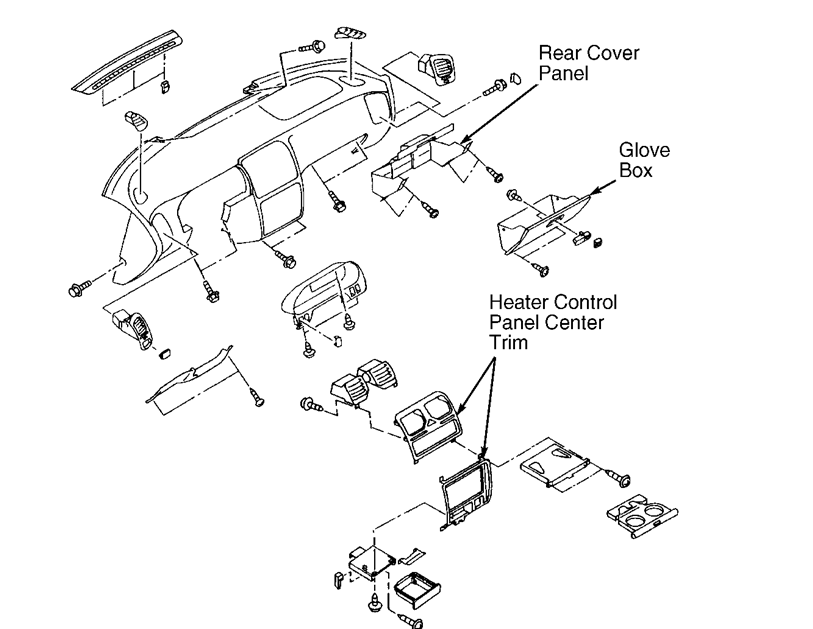 Service Manual How To Remove Cigarette Lighter From A