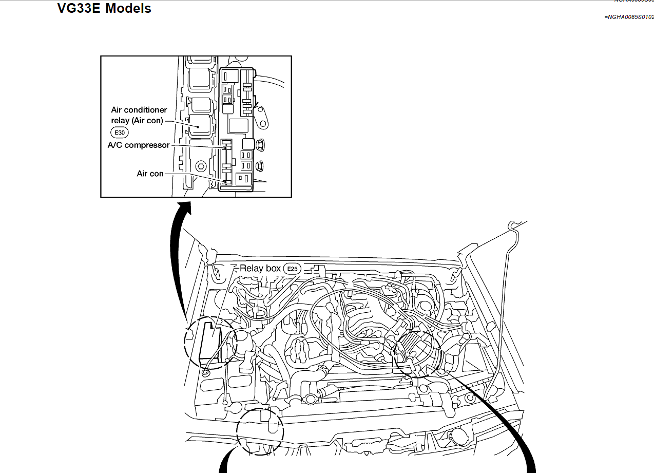 nissan pathfinder blower motor resistor location