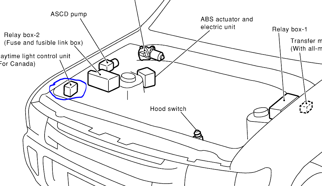 2002 Pathfinder Low Beam Does Not Work