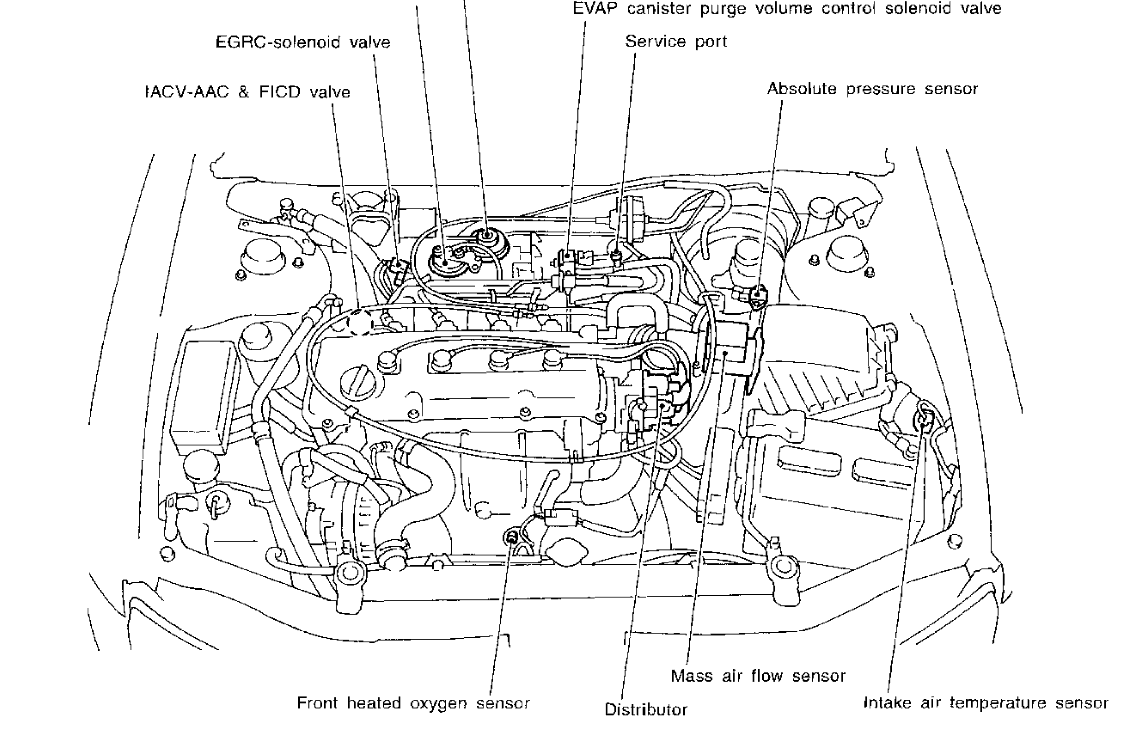 Nissan Engine Diagram : Nissan murano engine schematics get free image