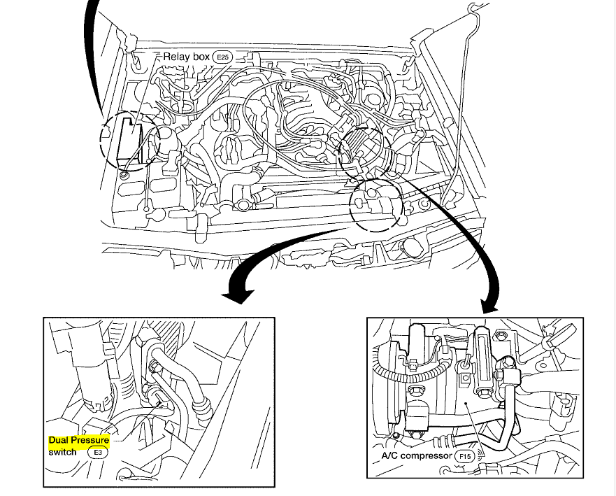 xterra ac system diagram  xterra  free engine image for