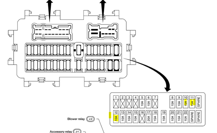Com Corrado Fuse Box Picture Diagram With All The Numbered Fuses