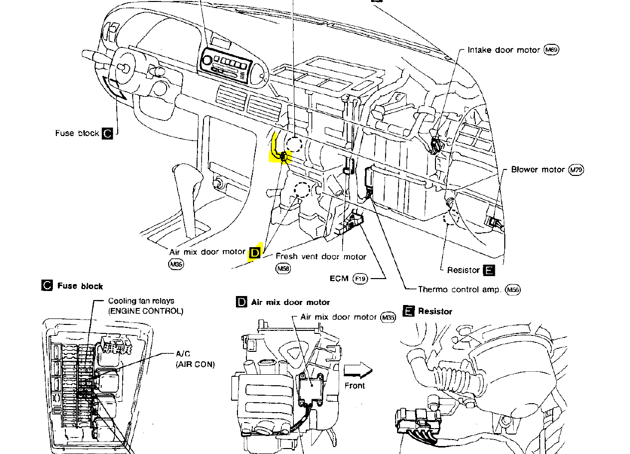 2010 nissan frontier engine diagram
