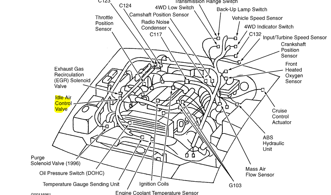 engine schematic for 2013 kia rio