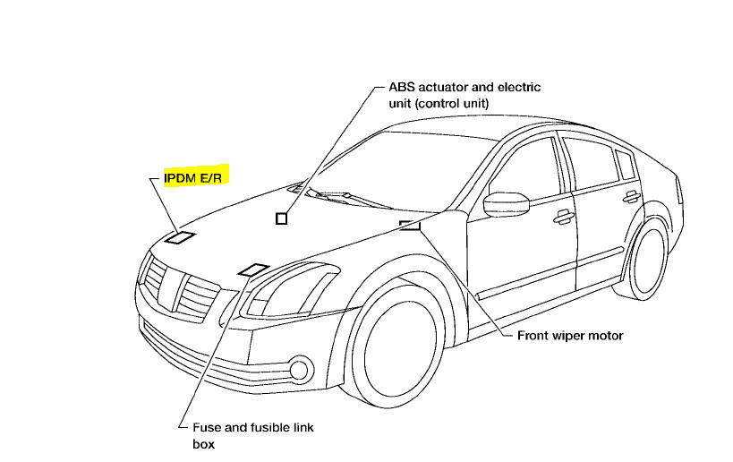nissan an ecm relay location  nissan  free engine image