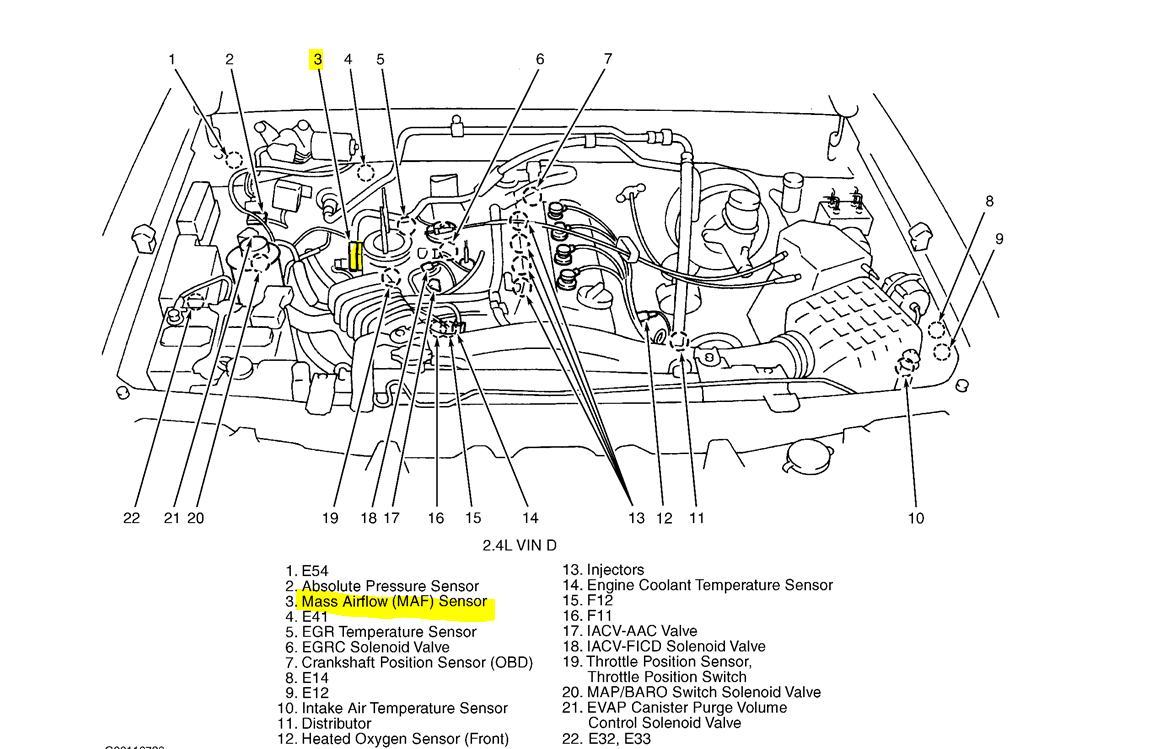 2001 Nissan Altima Air Intake Diagram Com