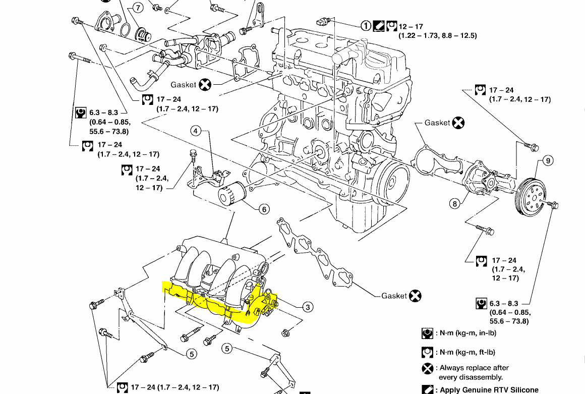 2004 nissan sentra swirl control valve control performance 90k miles the lower portion of the intake manifold likely will have to be replaced sorry i don t have a very good diagram of this for you