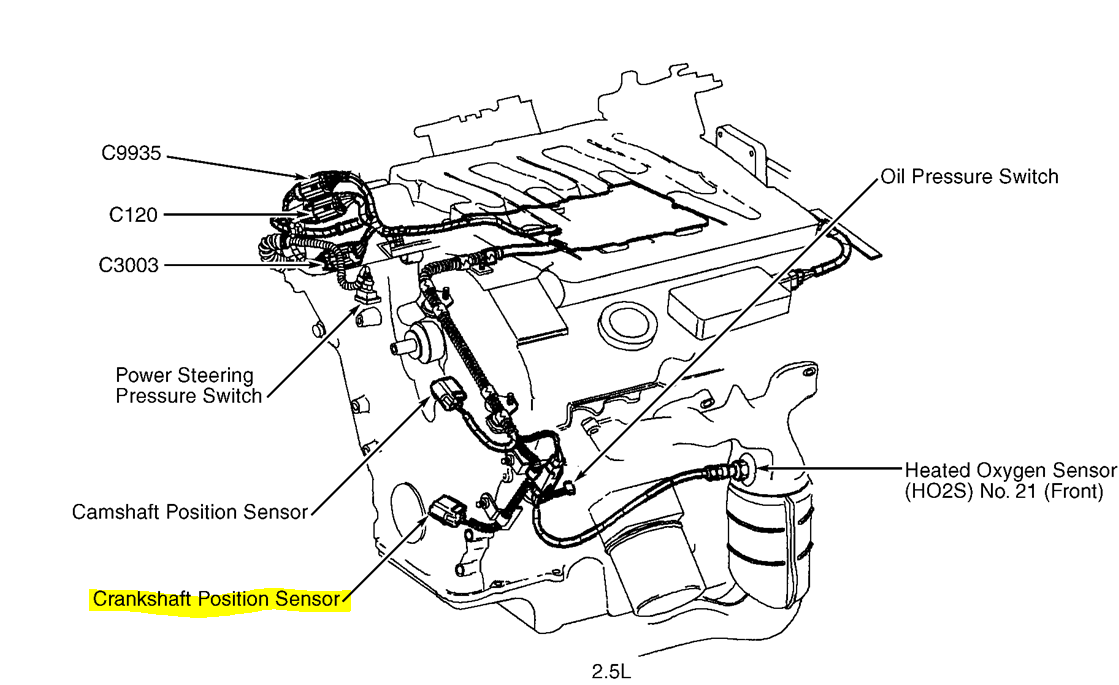 2000 mercury villager exhaust diagram