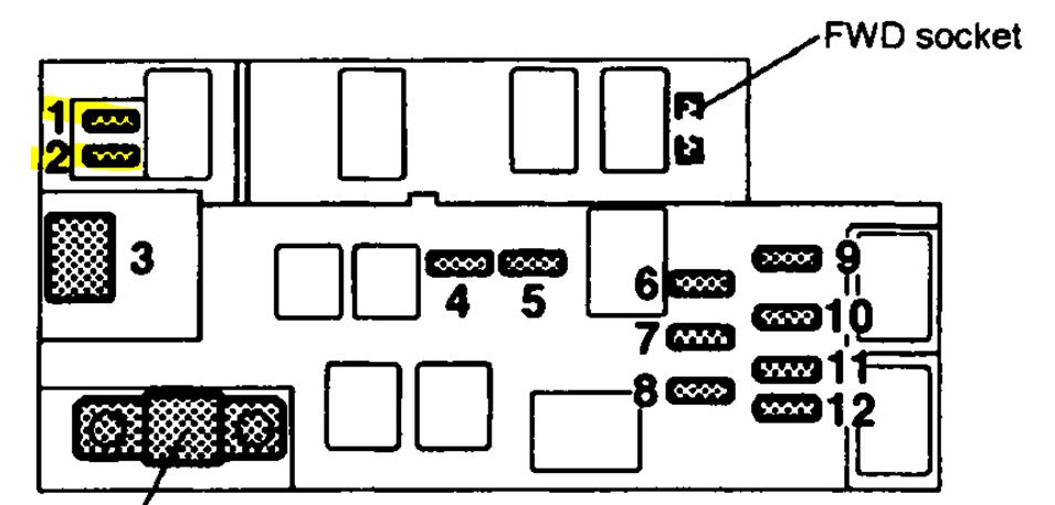 2001 subaru outback fuse diagram  subaru  wiring diagram