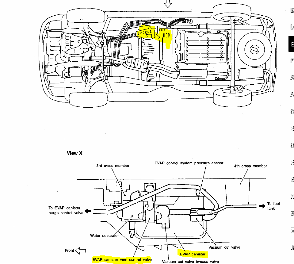 diagram as well front crash sensors 2001 nissan maxima  diagram  free engine image for user