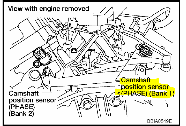 P1273 Nissan Maxima 2004 further 2007 Pathfinder Camshaft Position Sensor Location likewise Timing Belt Replacement Cost additionally Nissan Maxima 3 5 Cylinder Number Diagram together with P0340 2004 Nissan Maxima Camshaft Position Sensor Circuit. on p0340 2004 nissan maxima camshaft position sensor circuit