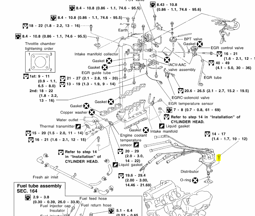 2000 Nissan Frontier Distributor Problems