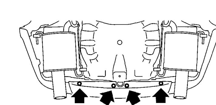 service manual  how to remove 2011 subaru tribeca bumper