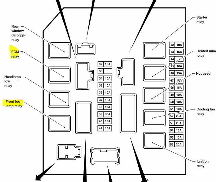 2010 nissan an ipdm diagram