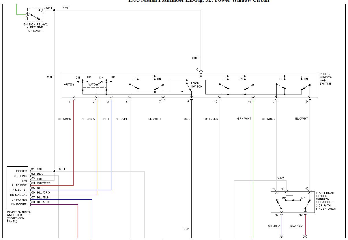 1995 pathfinder amp wiring diagram autos post