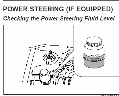 2005 Kia Rio: low speedspower steering fluidpower steering pump