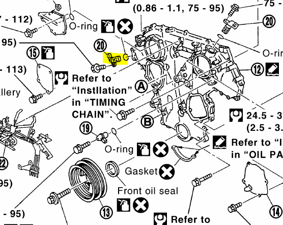 infiniti q45 o2 sensor bank 1 location