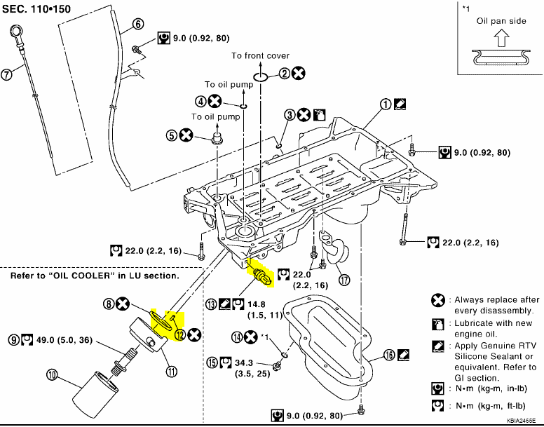 2006 nissan xterra oil filter location  2006  free engine