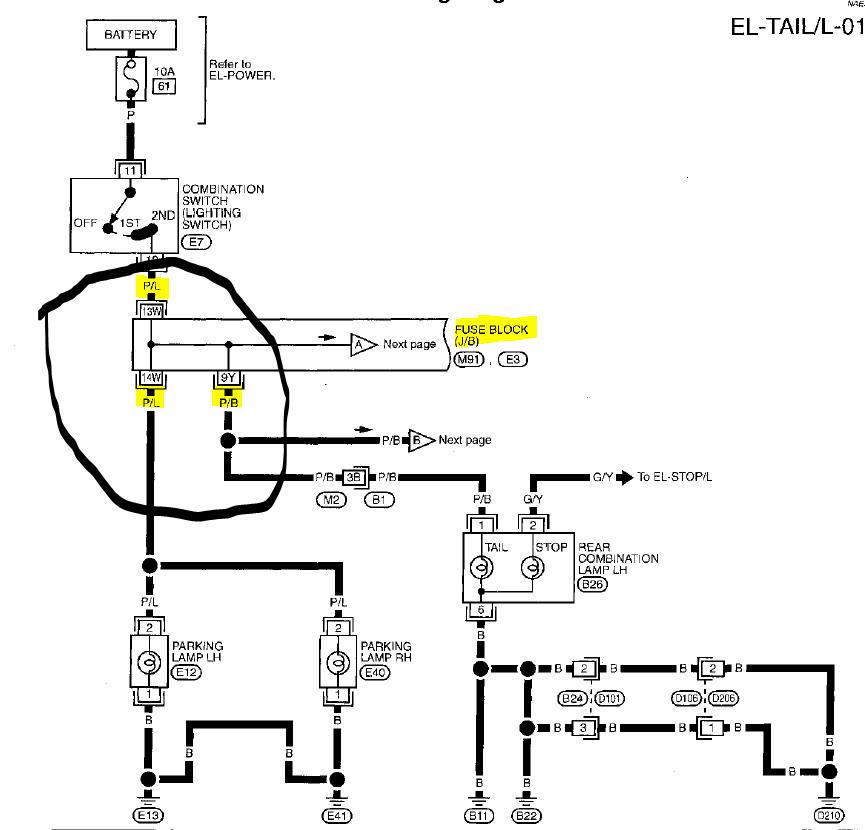 98 nissan pathfinder fuse box  nissan  auto fuse box diagram