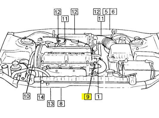 hyundai accent engine diagram knock sensor  hyundai  free