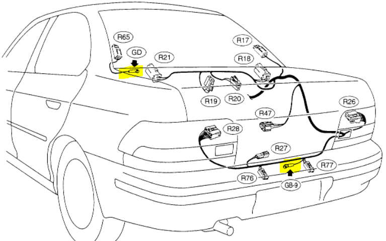 1997 subaru impreza wiring diagram 1997 image rear work light wiring diagram wiring diagram and schematic design on 1997 subaru impreza wiring diagram