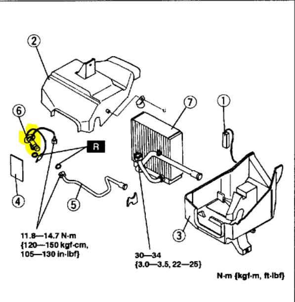 nissan air conditioning diagram