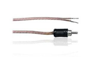 Rca plug adapter speaker wire