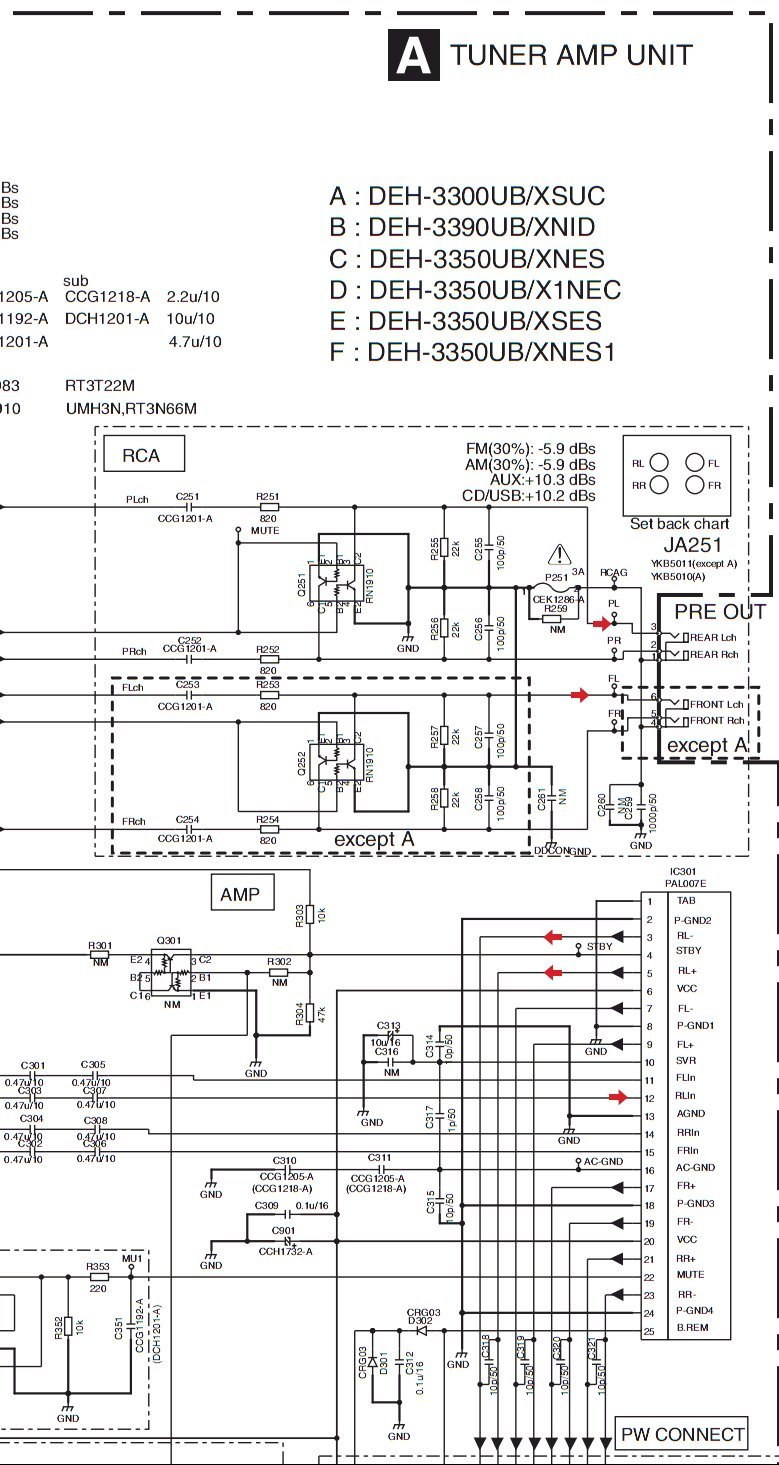 Pioneer Deh Wiring Great Design Of Diagram 2200ub 5 Get Free Image