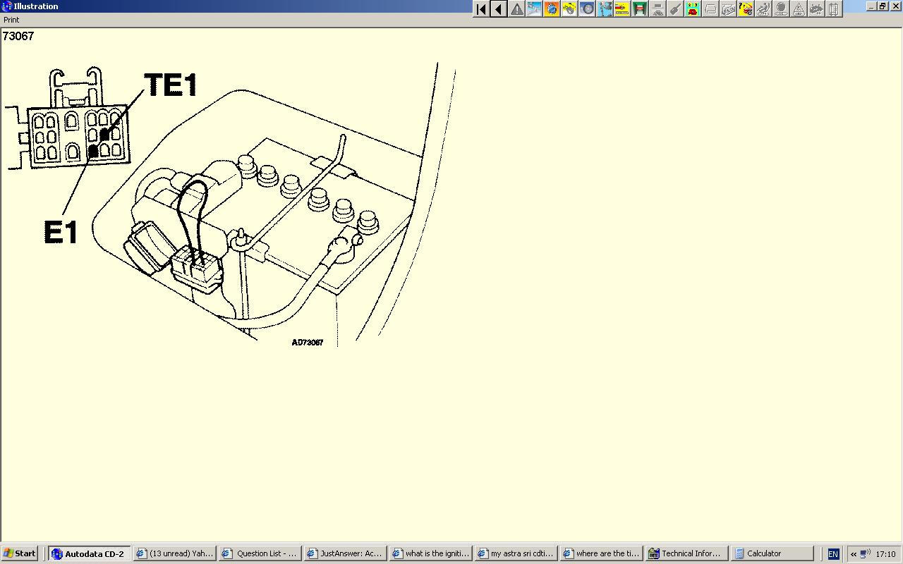 Auto Electrician Diagram