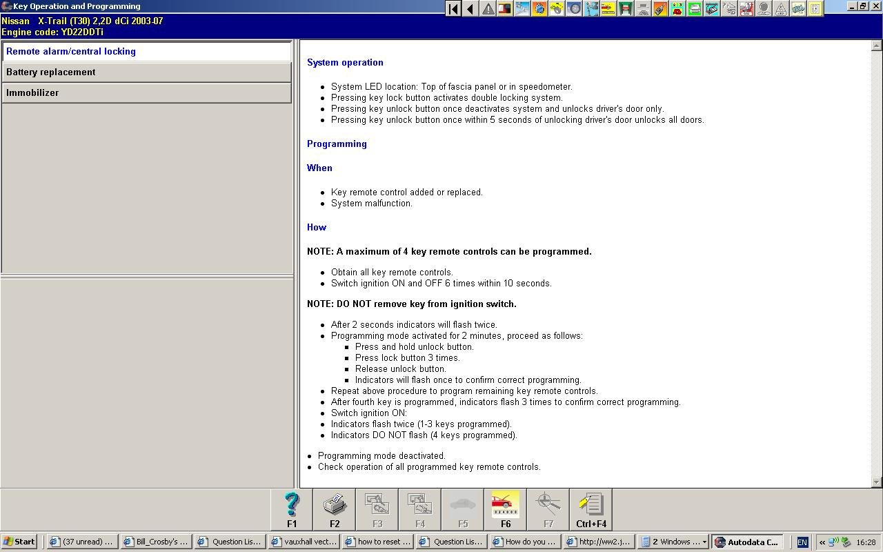 Is it possible to program a Nissan key online?