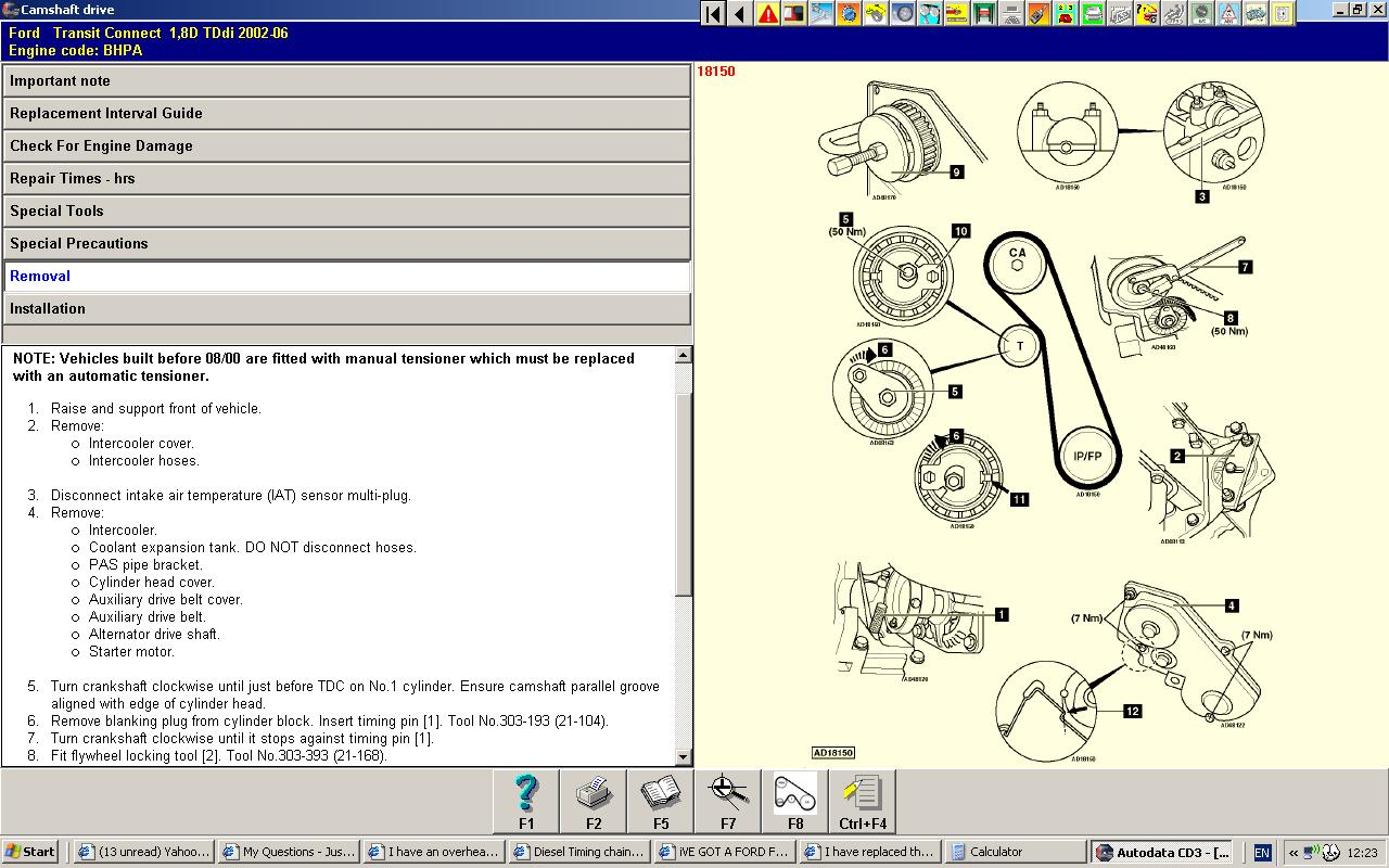 Ford Focus Timing Belt Diagram. Ford. Free Image About Wiring ...