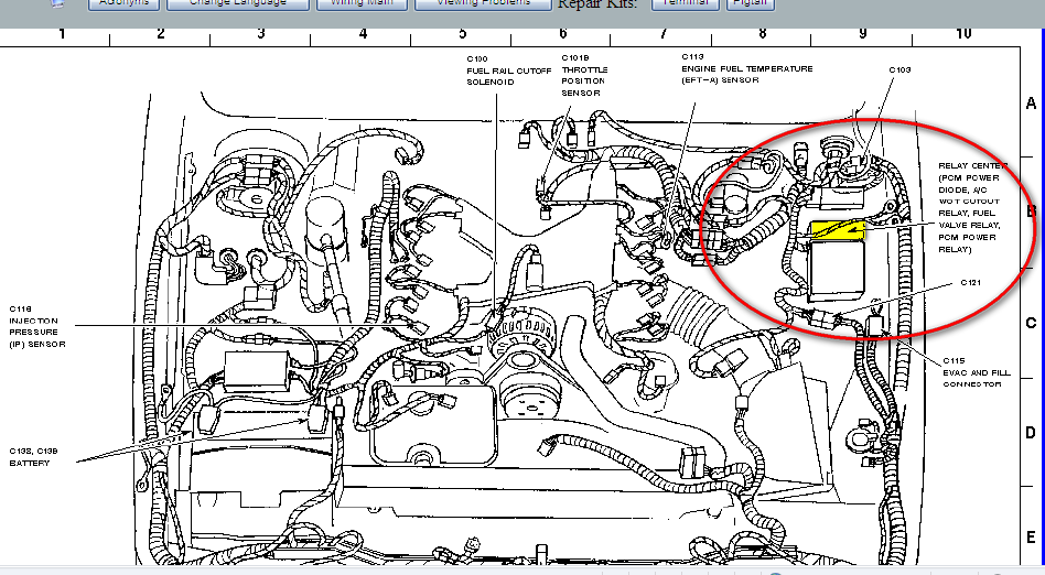 mercury 98 grand marquis 4 6 car towed in tried to retrieve