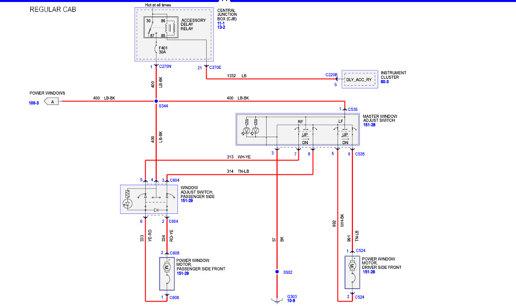 Diagram  2000 Navigator Window Switch Wiring Diagram Full