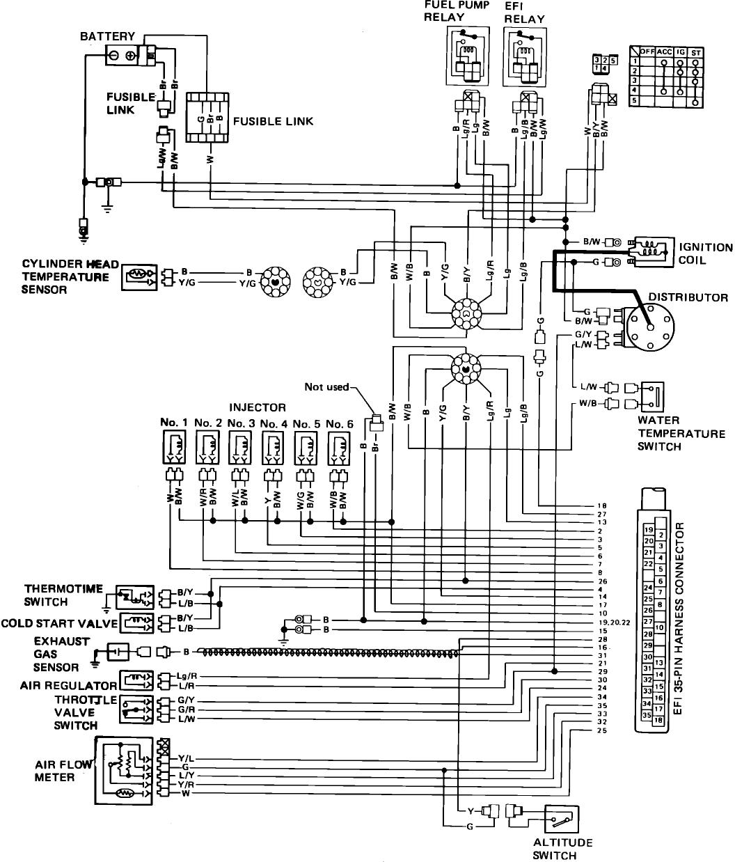 Nissan Vq25 Wiring Diagram Auto Electrical Gallery I Have A 1982 Maxima Fuel Injected 6 Cylinder Turn