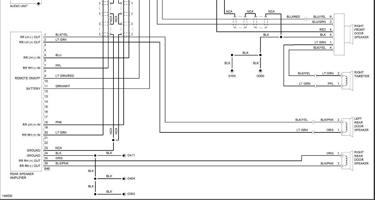 2001 nissan pathfinder bose wiring diagram 2001 i have a 2001 nissan pathfinder a bose clarion 6 cd system on 2001 nissan