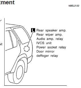 362699 2001 Nissan Pathfinder Bose Amp Location