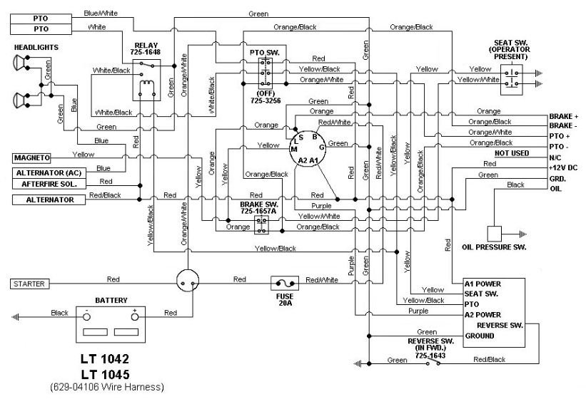 wiring diagram for a cub cadet ltx 1040 – the wiring diagram,Wiring diagram,Wiring Diagram For A Cub Cadet Ltx 1040