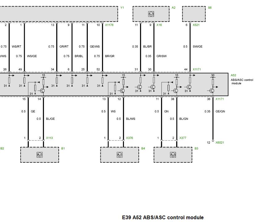 Bmw E39 Abs Module Pinout