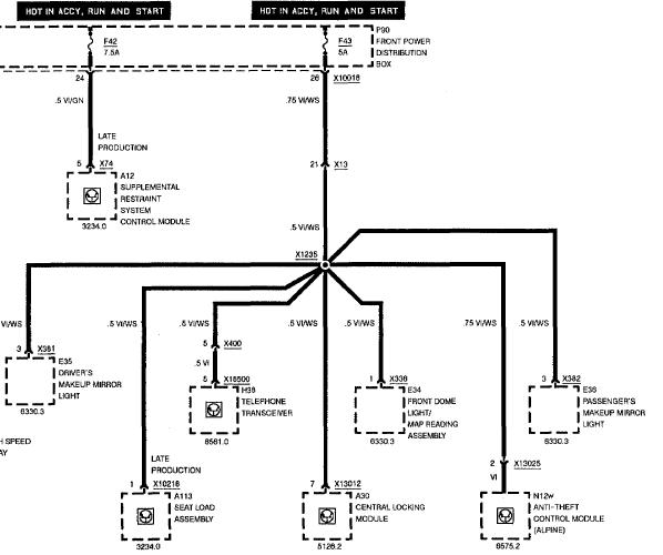 1997 bmw 540i starter relay location  1997  free engine