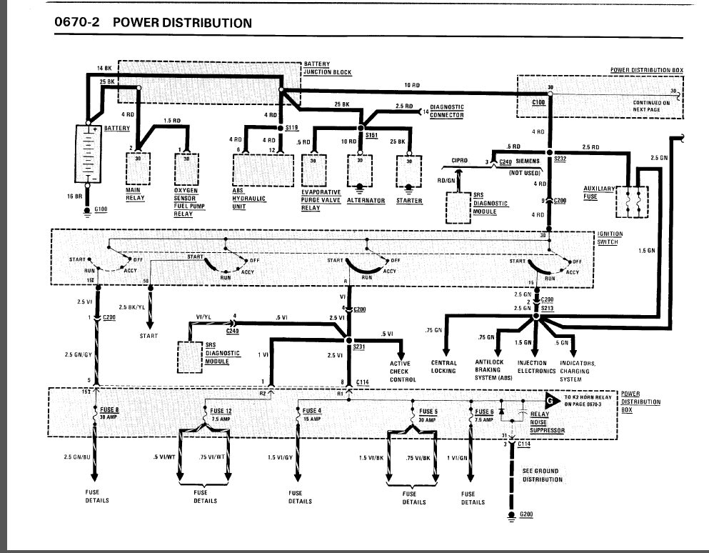 radiator cooling fan relay wiring diagram 1990 325i 4 door... windows operate and fan blower for ac ...