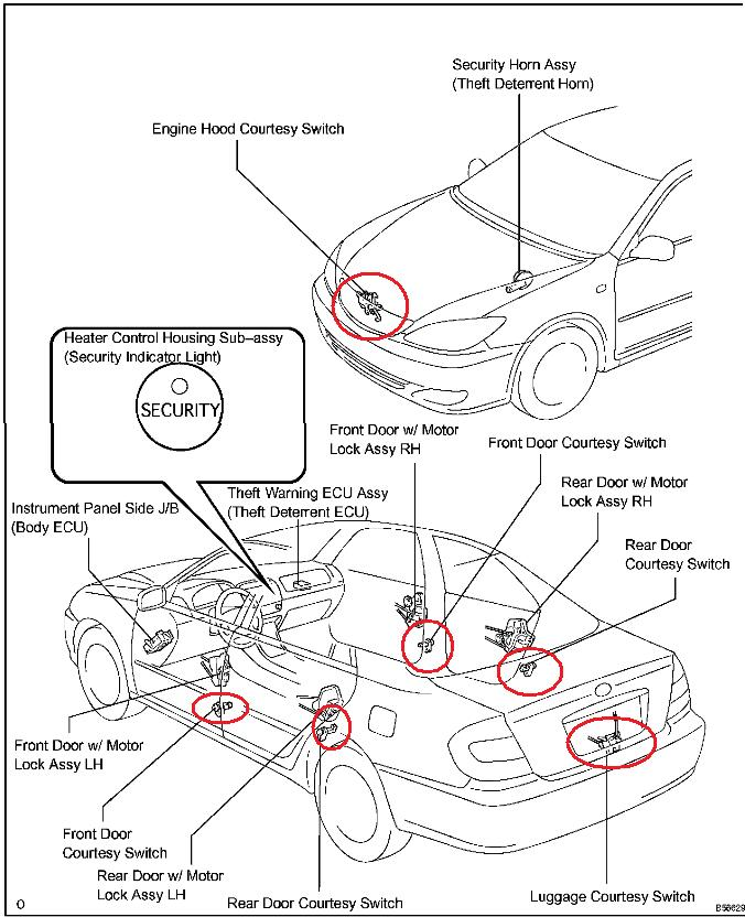 toyota camry alarm problems  used 1991 toyota camry