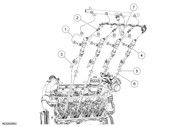 6 4l Powerstroke Engine Diagram Com