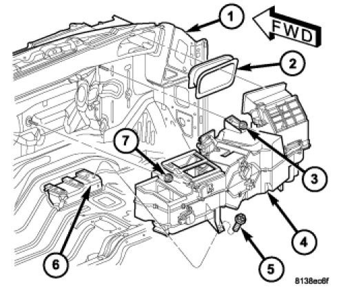 Heater Diagram 2003 Dodge Ram 1500