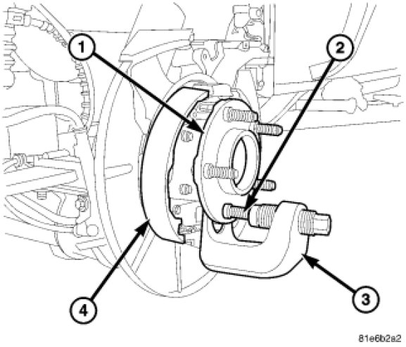What Exactly Do I Have To Do To Replace A Broken Rear Wheel Stud On